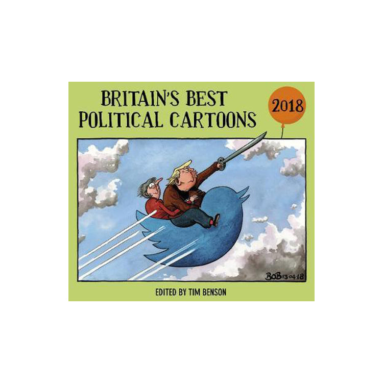 Britain's Best Political Cartoons 2018 featured image