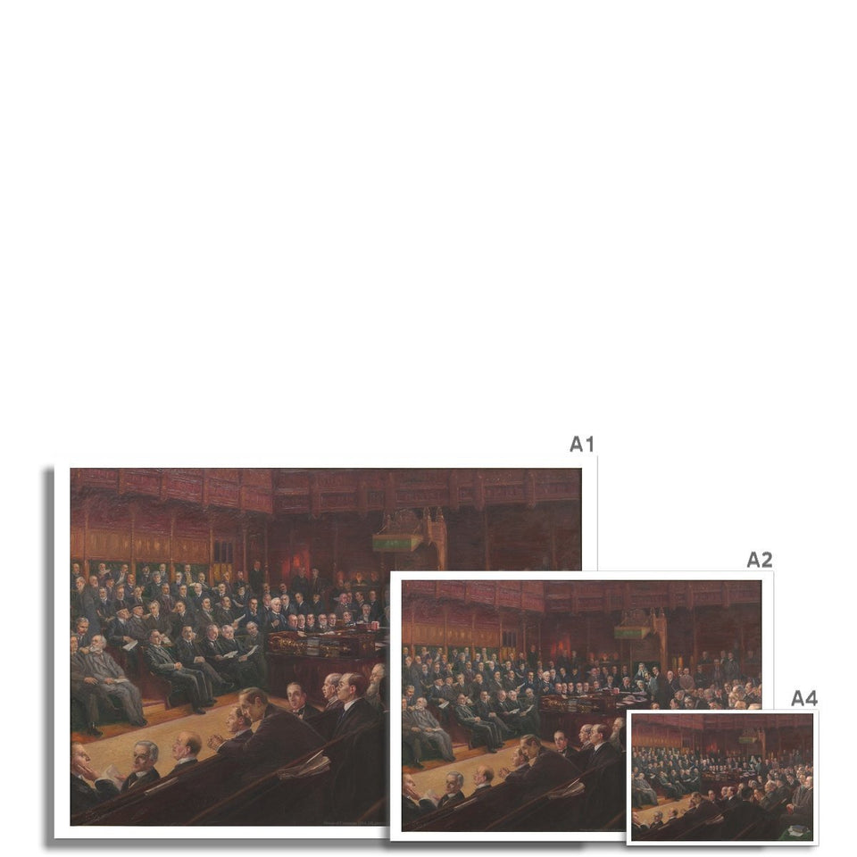 House of Commons 1914 Fine Art Print featured image