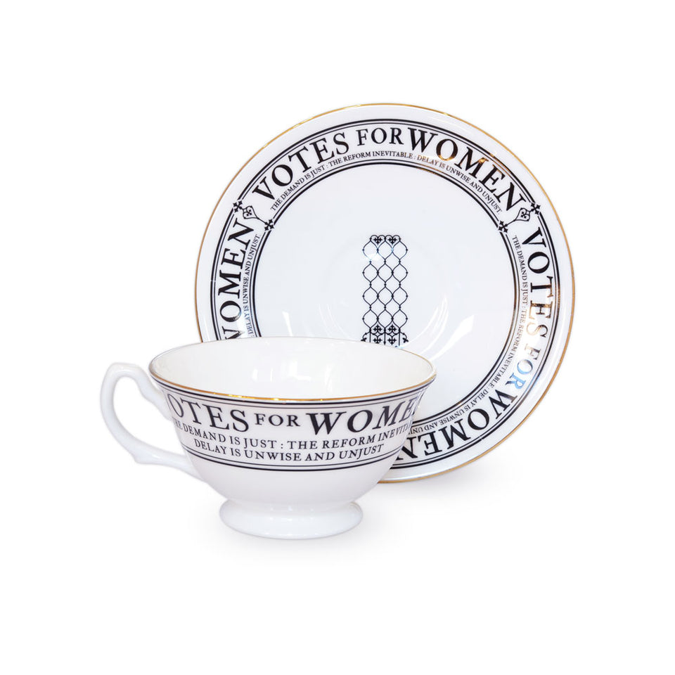 Votes for Women Cup and Saucer Set featured image