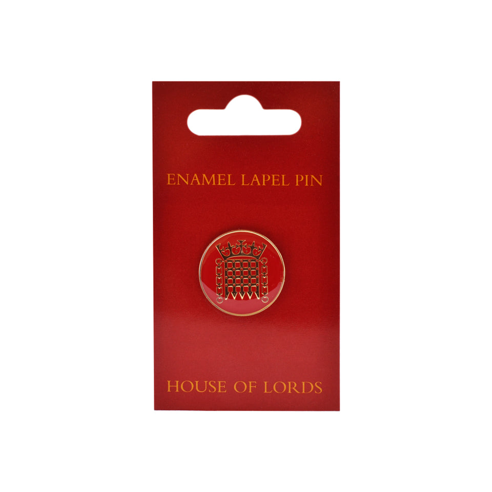 House of Lords Enamel Lapel Pin featured image