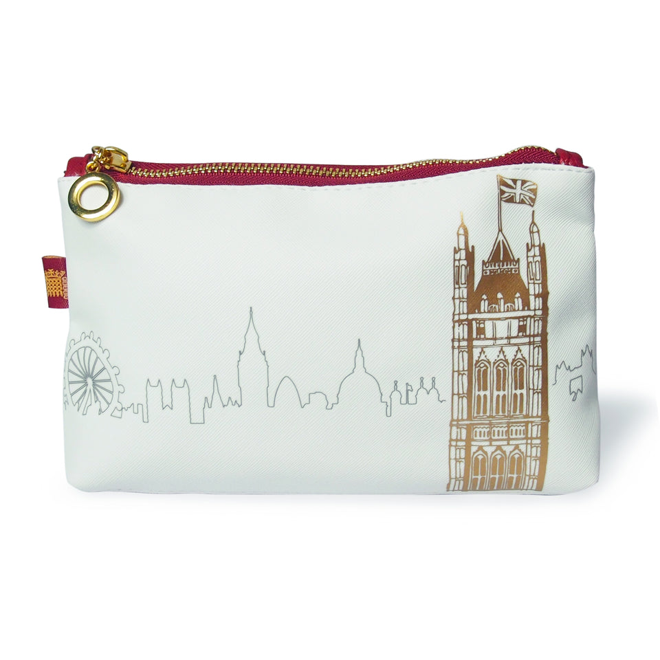 House of Lords Victoria Tower Cosmetics Pouch featured image