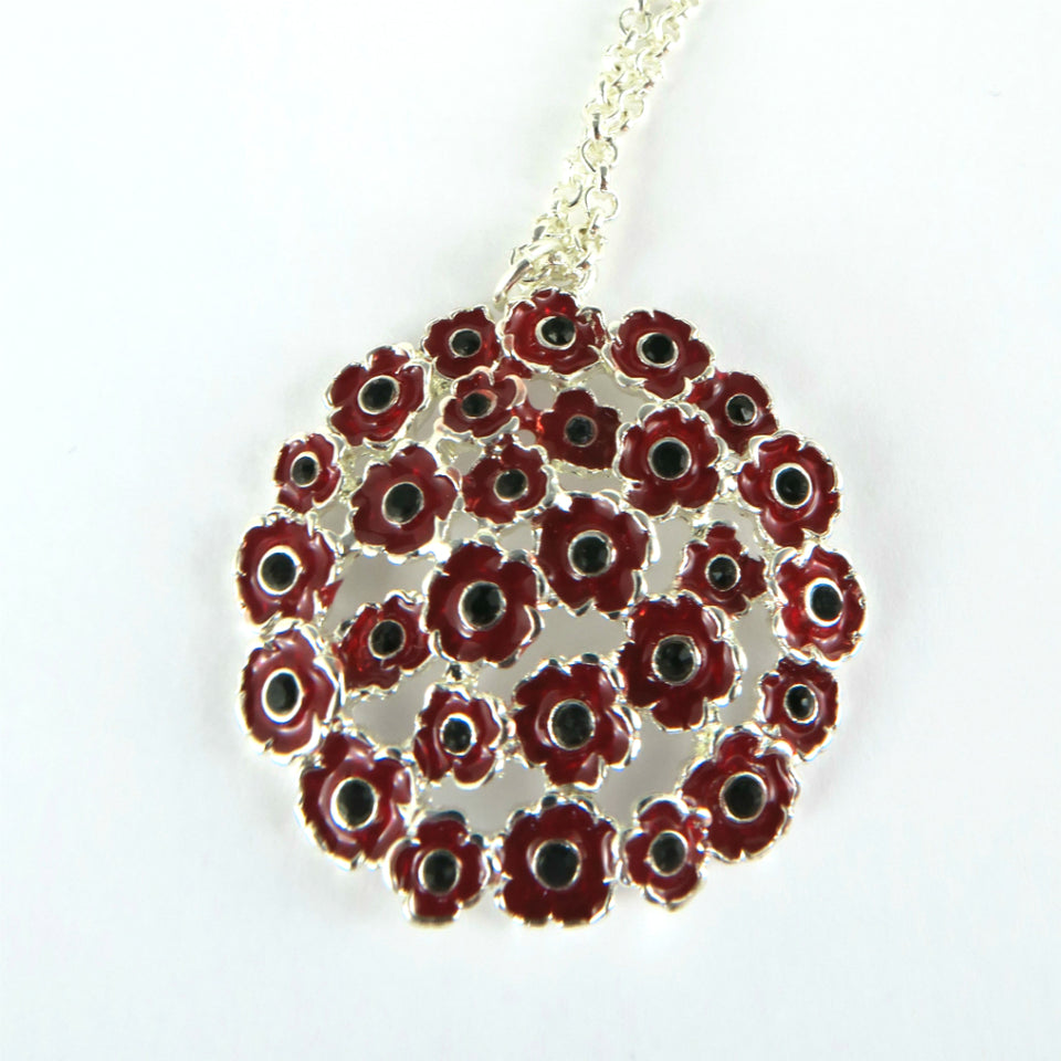 Cluster Poppy Necklace featured image