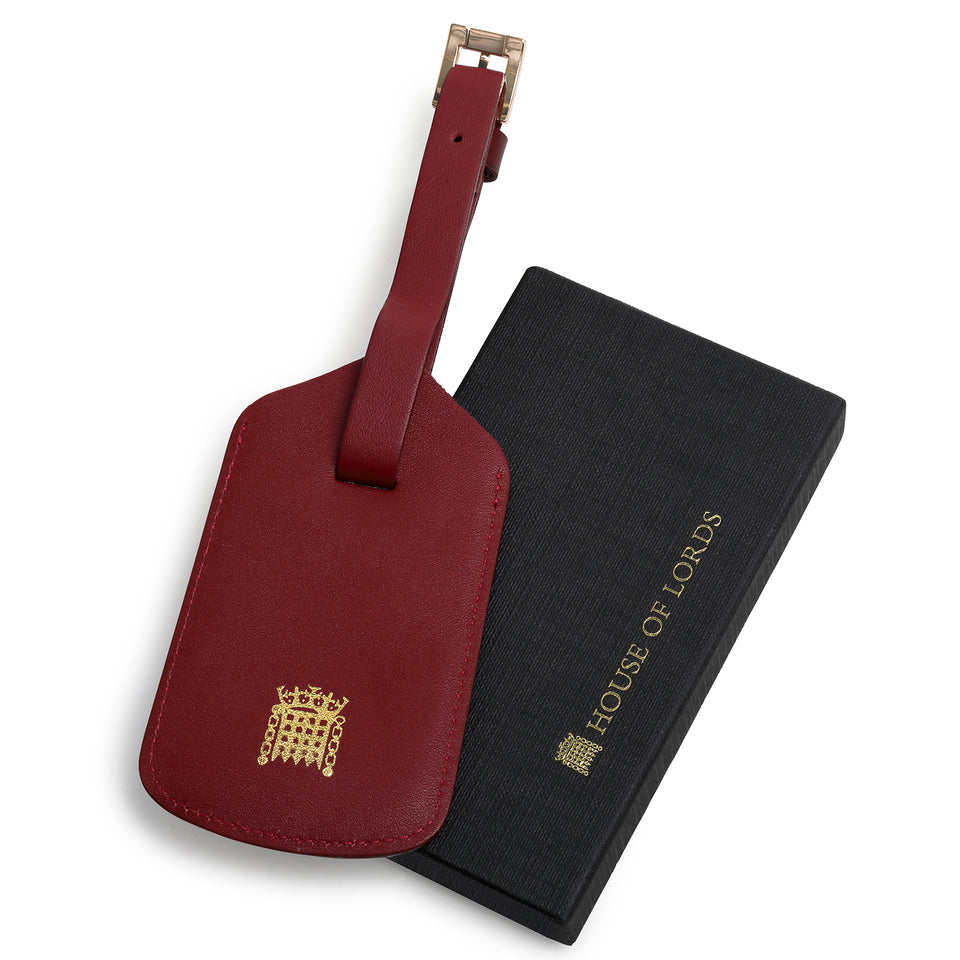 House of Lords Leather Luggage Tag featured image