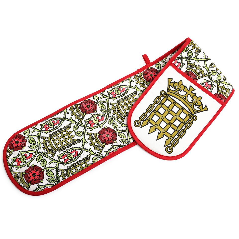 House of Lords Tudor Rose Oven Gloves featured image
