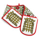 House of Lords Tudor Rose Oven Gloves image 2