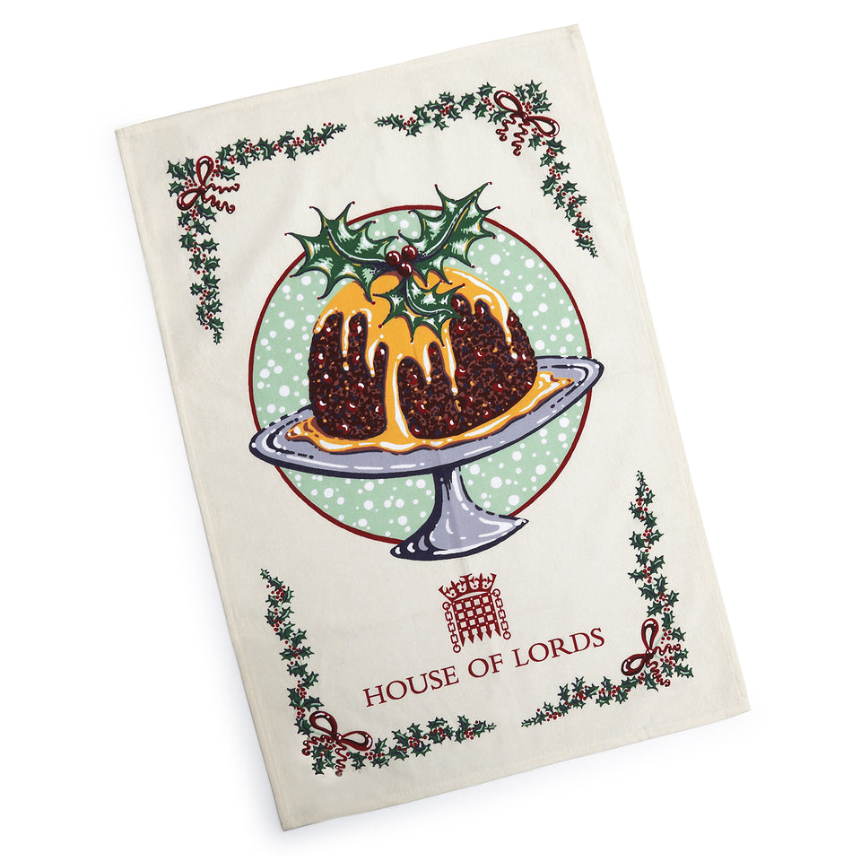 House of Lords Christmas Tea Towel featured image