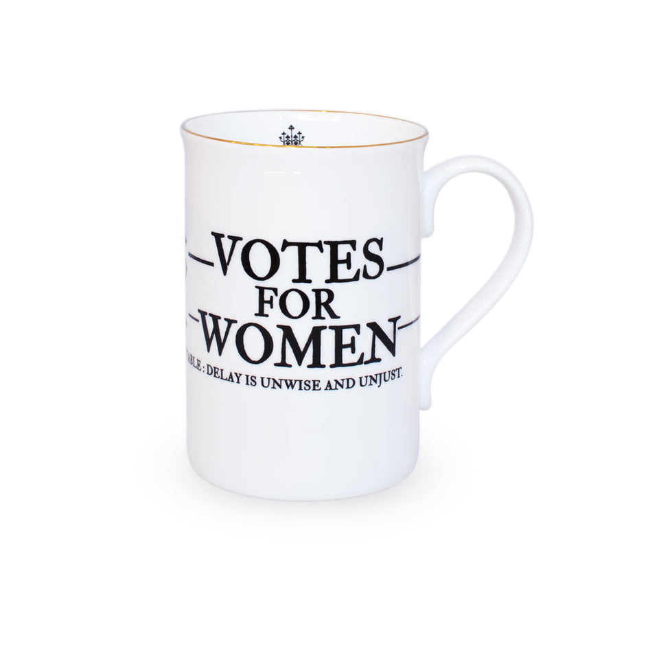 Votes for Women Fine Bone China Mug featured image