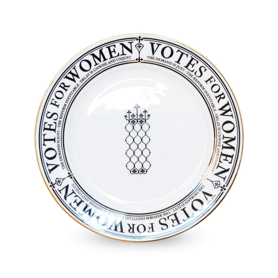 Votes for Women Fine Bone China Plate featured image
