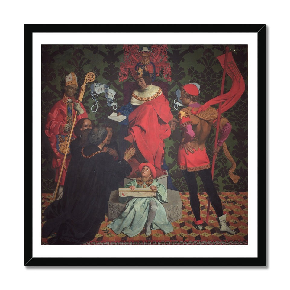 John Cabot and his sons Framed Print featured image