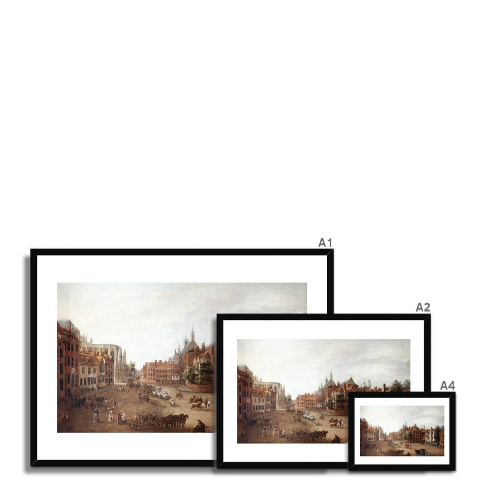 View of Old Palace Yard Framed Print featured image