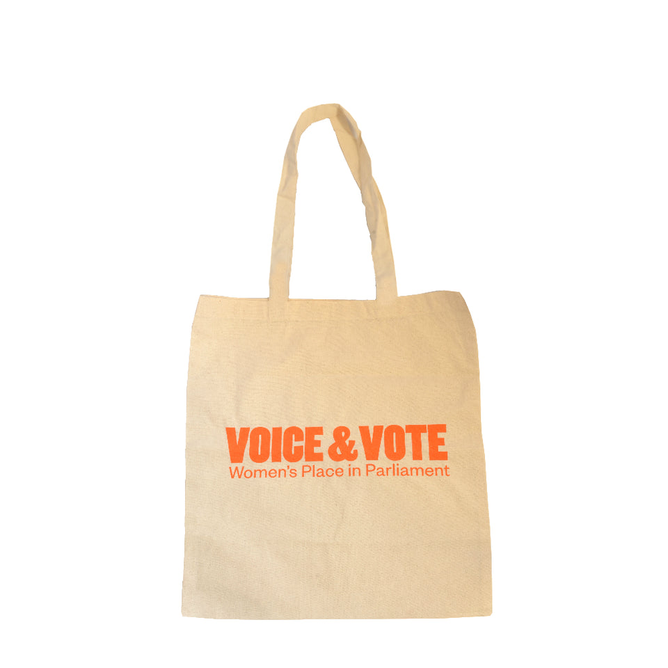 Voice & Vote Canvas Bag featured image