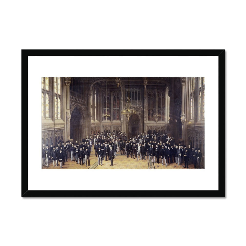 Lobby of the House of Commons Framed Print featured image