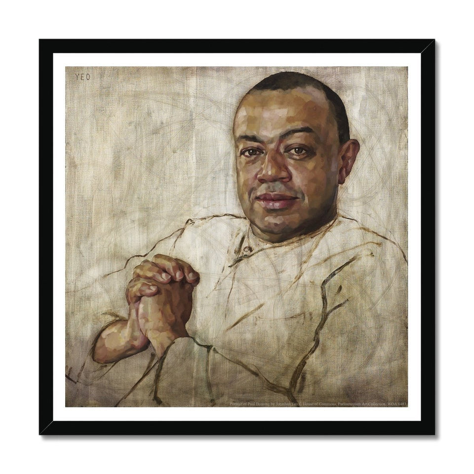 Portrait of Paul Boateng Framed Print featured image