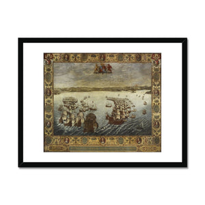 The English Fleet Framed Print