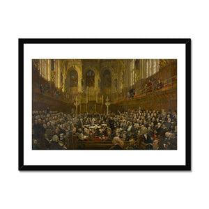 The House of Lords Framed Print