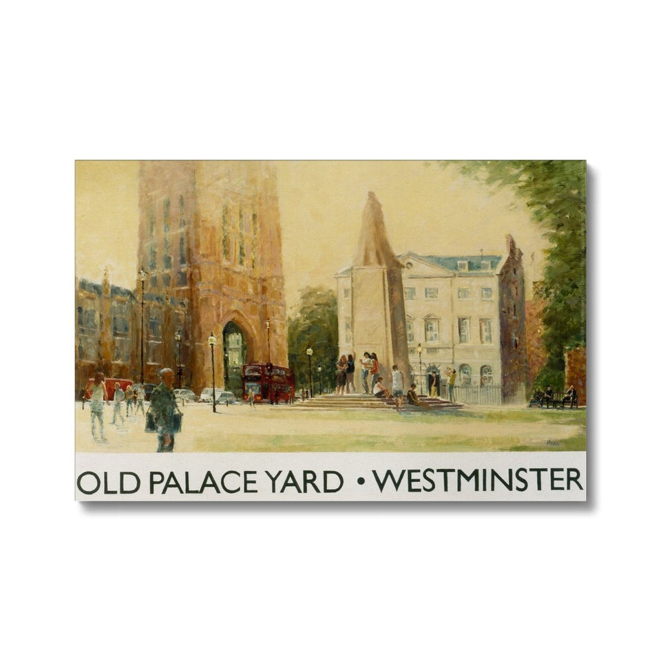 Old Palace Yard Canvas featured image