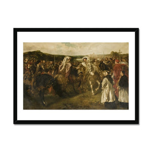 The Field of the Cloth of Gold Framed Print