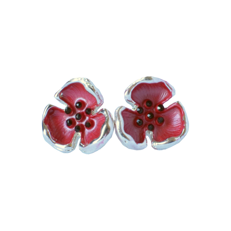 Poppy Stud Earrings featured image