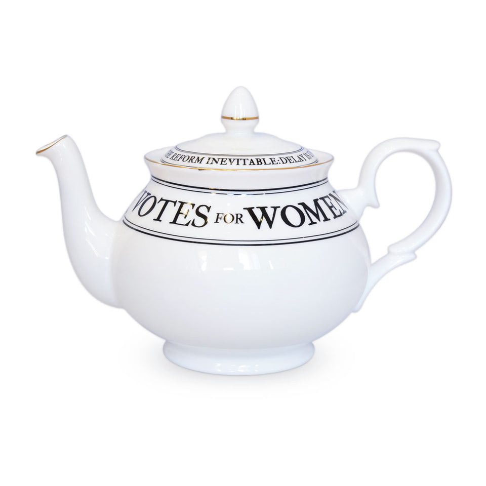 Votes for Women Teapot featured image