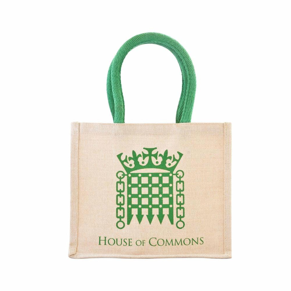 Small House of Commons Jute Bag featured image