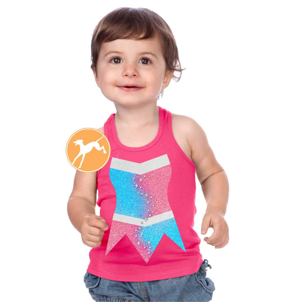 Sleeping Beauty make it Pink kids tank