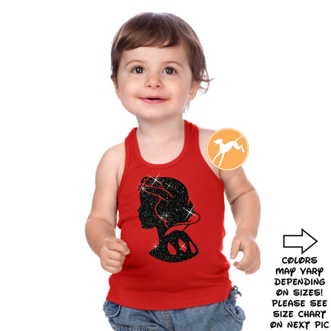 Disney Snow white kids red tank