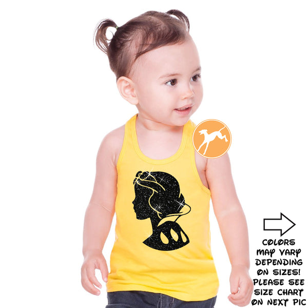 Disney Snow white yellow kids tank