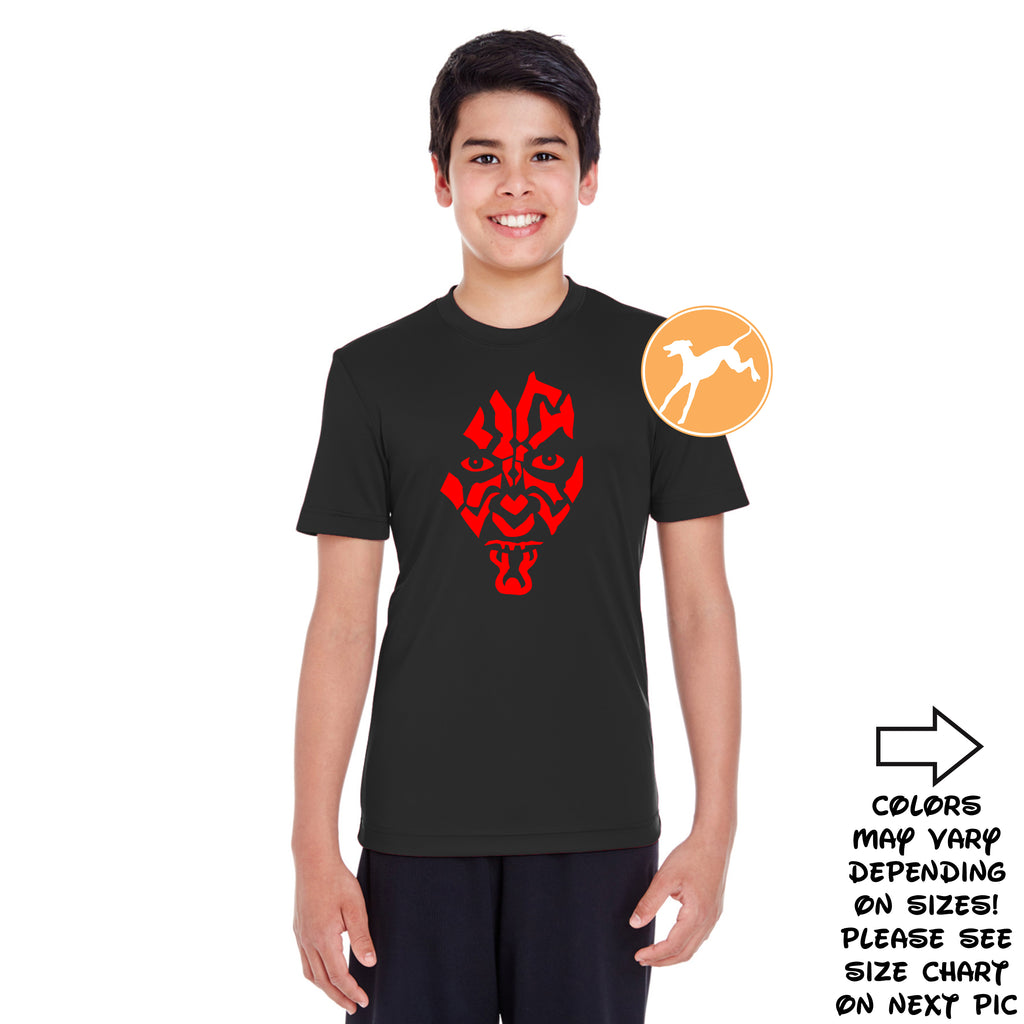Disney Star Wars Darth Maul black youth shirt