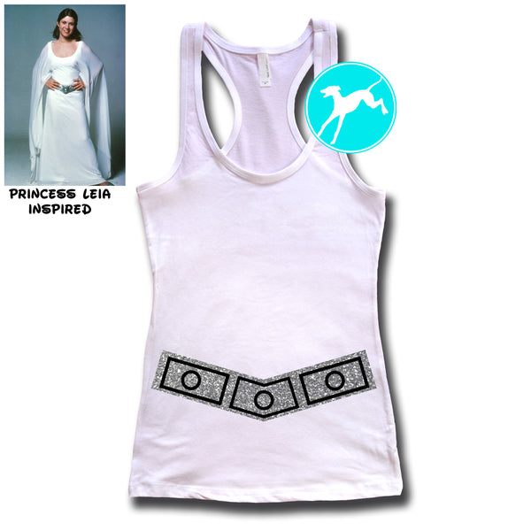 Disney Star Wars Leia belt Tank