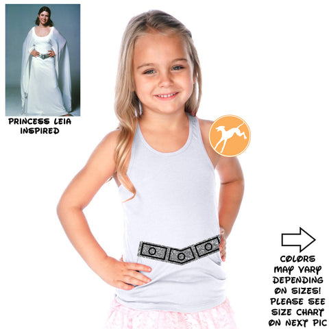 Disney Star Wars Leia belt kids Tank