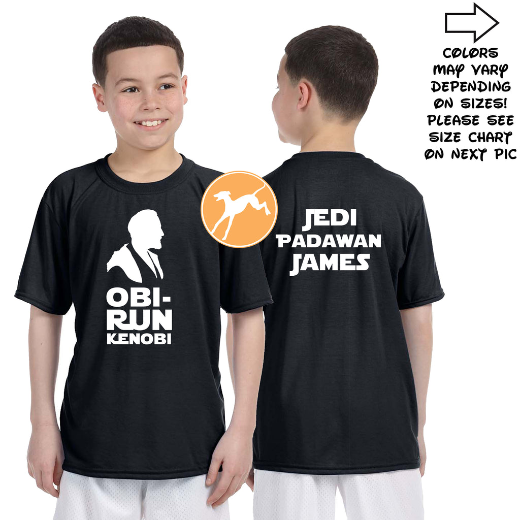 Disney Star Wars Obi Run Kenobi personalized shirt