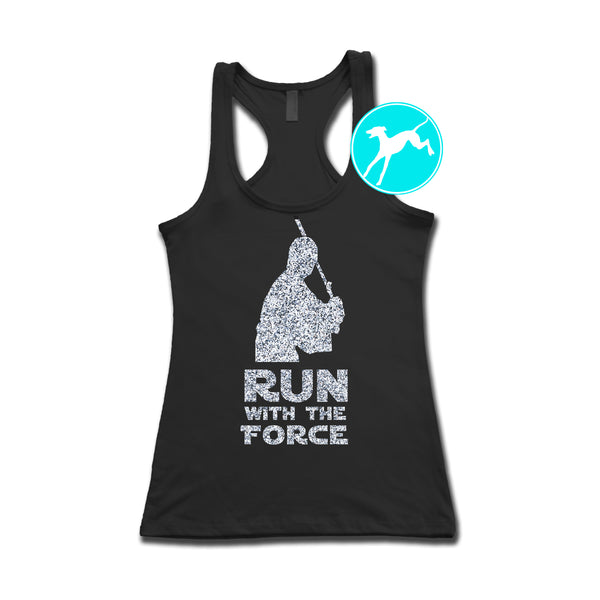 Disney Star Wars Run Force Jedi glitter tank
