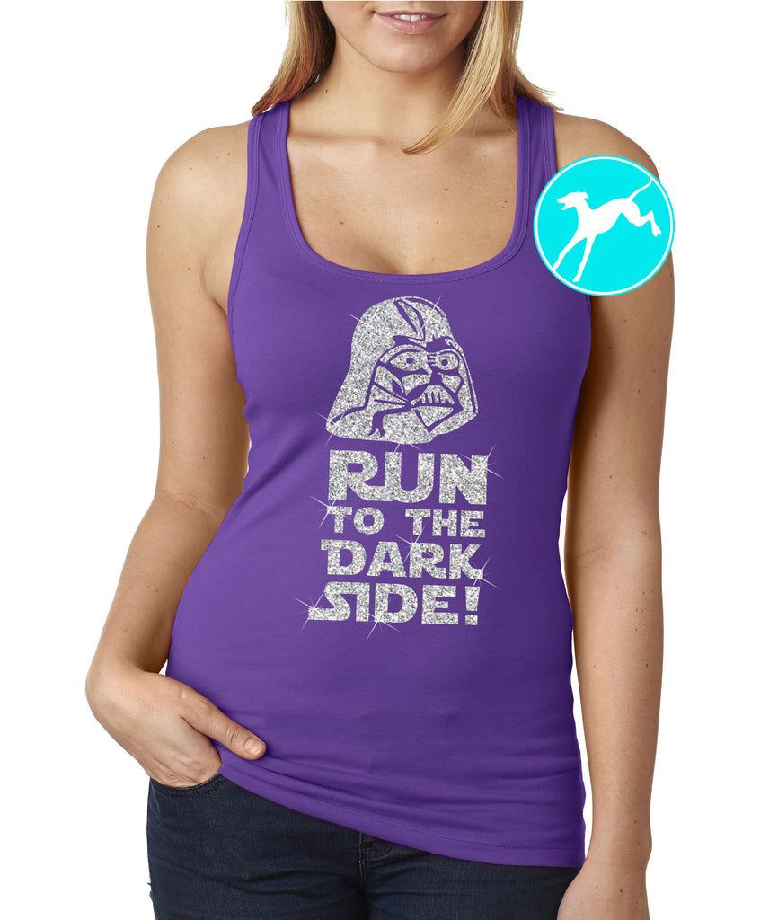 Disney Star Wars Vader purple tank