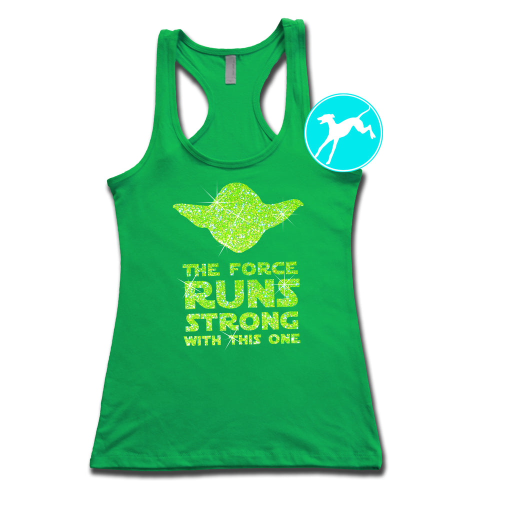 Disney Star Wars Yoda runs strong green tank