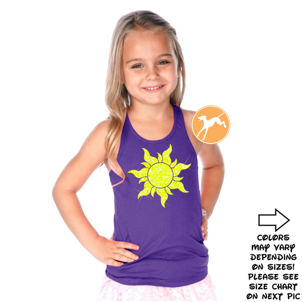Disney Tangled Sun Kids Tank