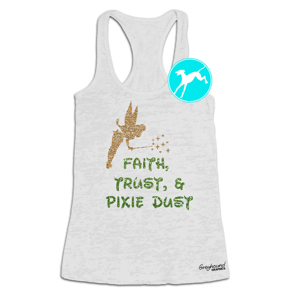 Disney Tinkerbell Faith Trust pixie dustTank
