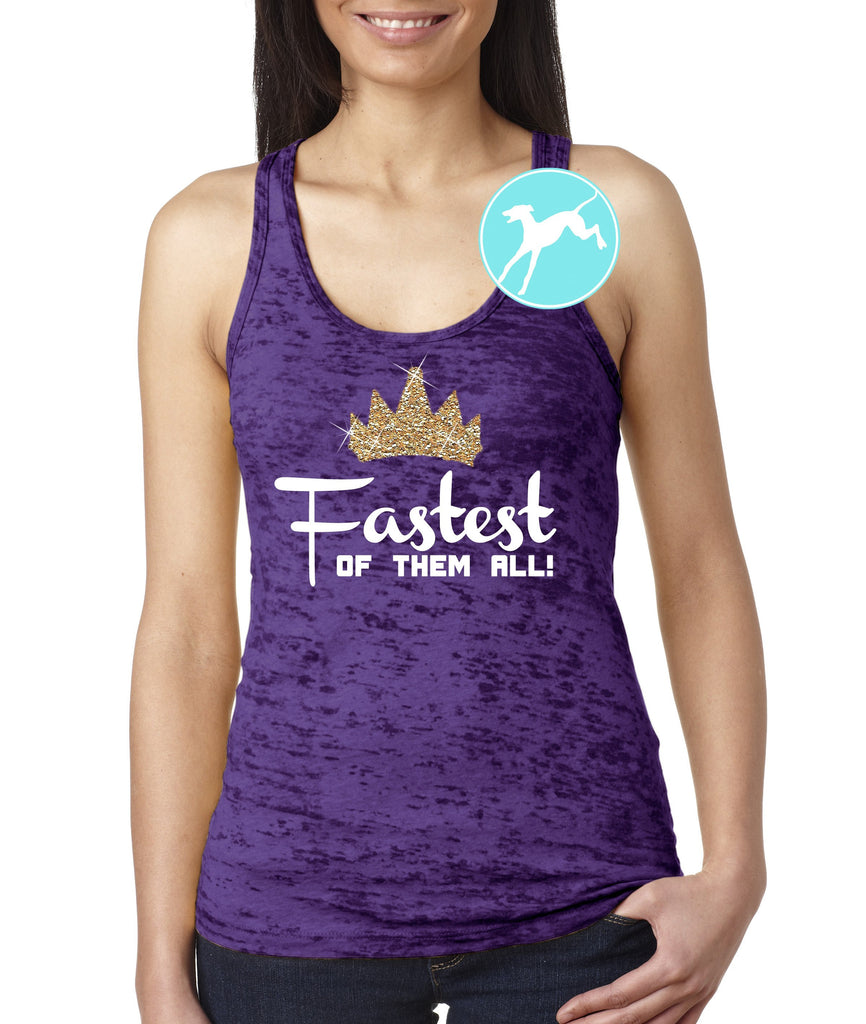 Disney Villain Fastest of them all Purple tank