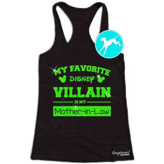 Disney Villain is my  Mother in law black shirt