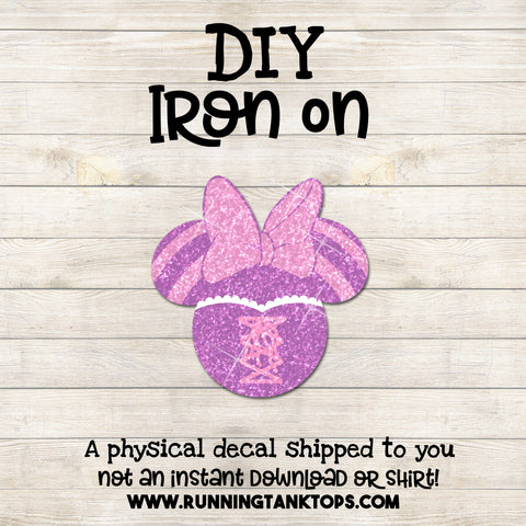 Disney Tangled minnie head decal