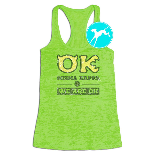 Monsters University OK Tank