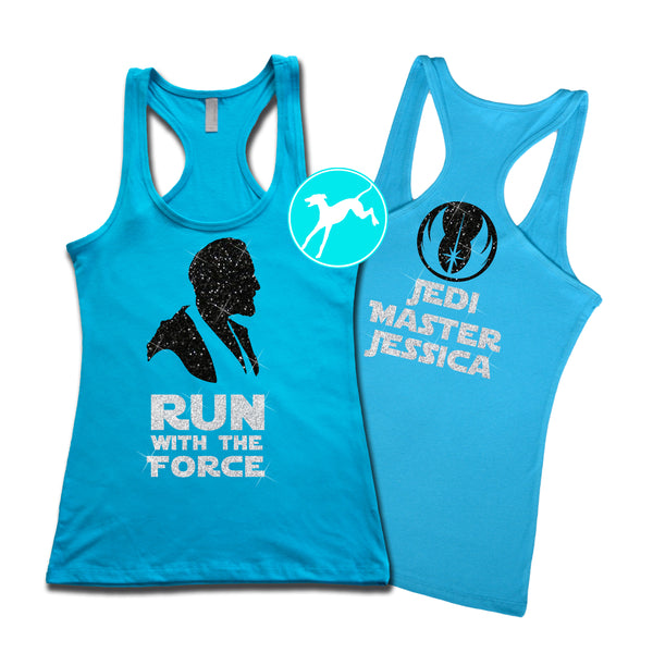 Disney Obi Run force sapphire personalised Tank