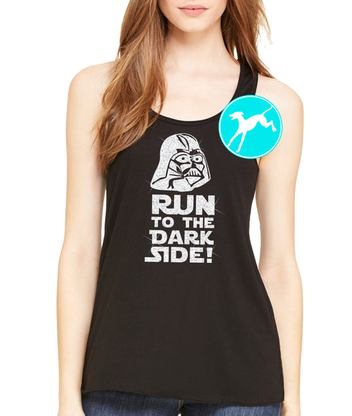 Star Wars Run Dark Side Black tank