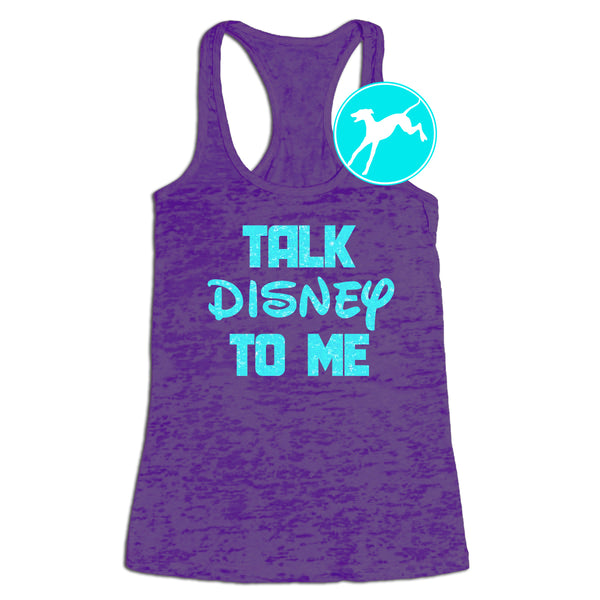 Talk Disney to me tank