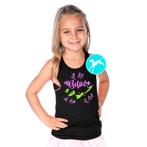 Tinkerbell I do Believe kids tank