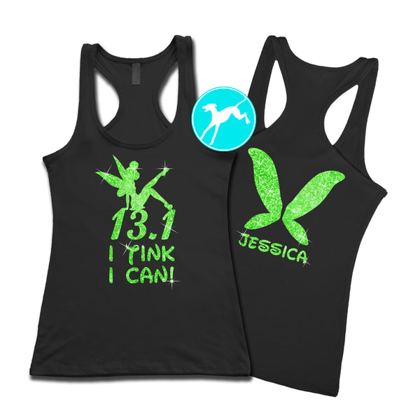 Tinkerbell Tink I Can Personalized tank