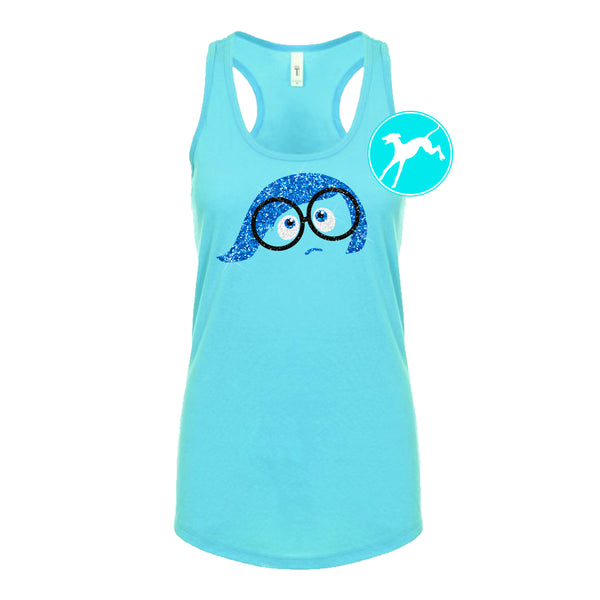Disney Sadness inside out tank