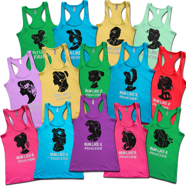 Disney Run Like A Princess Ariel Tank