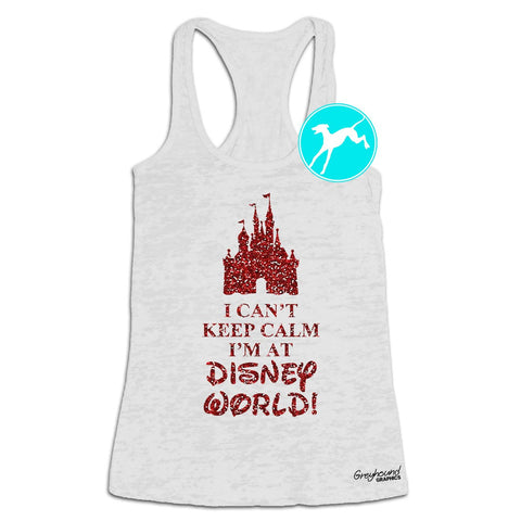 keep calm going to Disnyeyworld tank