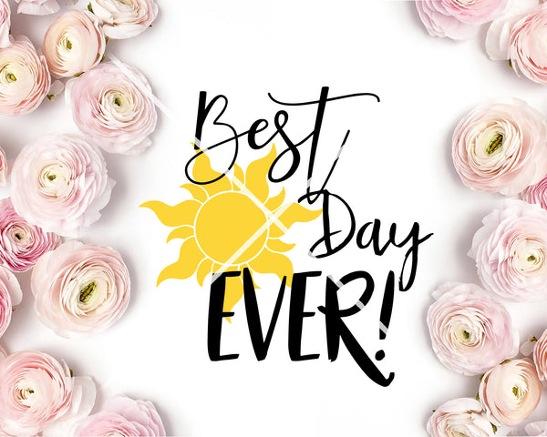 Best Day Ever Tangled SVG