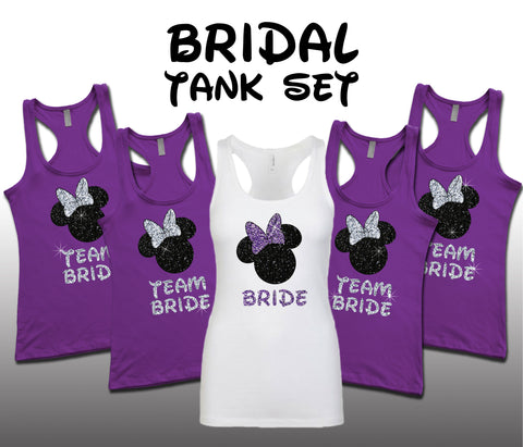 Minnie Bridal Set Purple